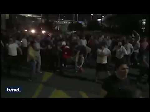 Vatandaşlar Polatlı'da darbecilerin araçlarının lastiklerini kesmiş